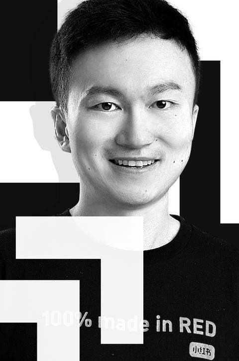 小红书首席产品官邓超照片