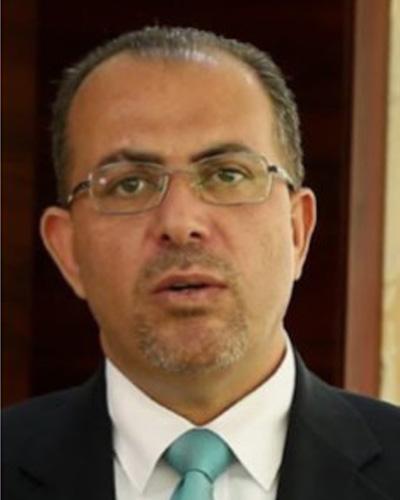 阿拉伯机器人协会主席Ismail Yasein照片