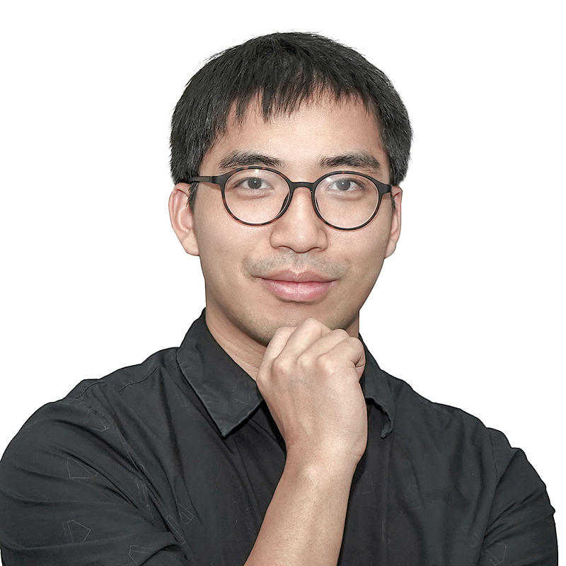 虎牙数据技术部高级经理谭安林照片