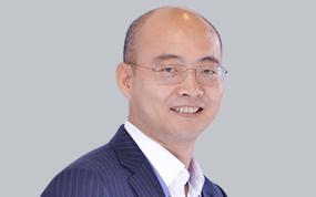 华为高级副总裁、数字转型首席战略官车海平照片