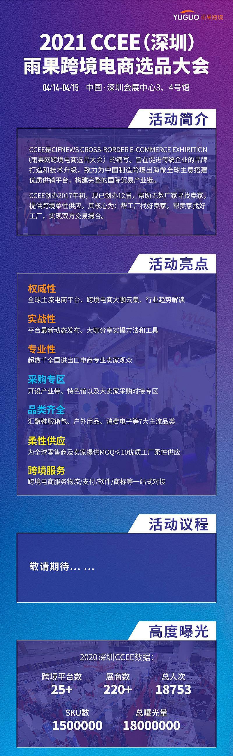 2021 CCEE(深圳)雨果网跨境电商选品大会
