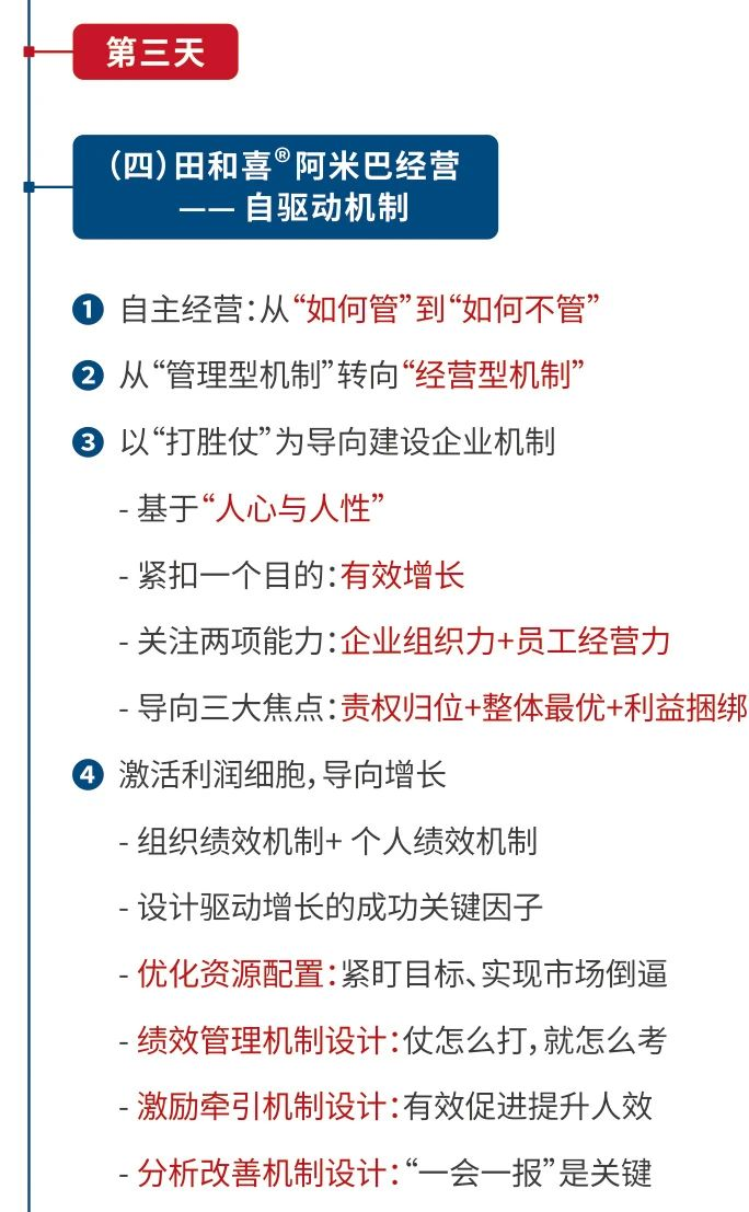 《田和喜?阿米巴经营模式》-企业极简增长路线图(4月杭州站-欧图欧商学院)