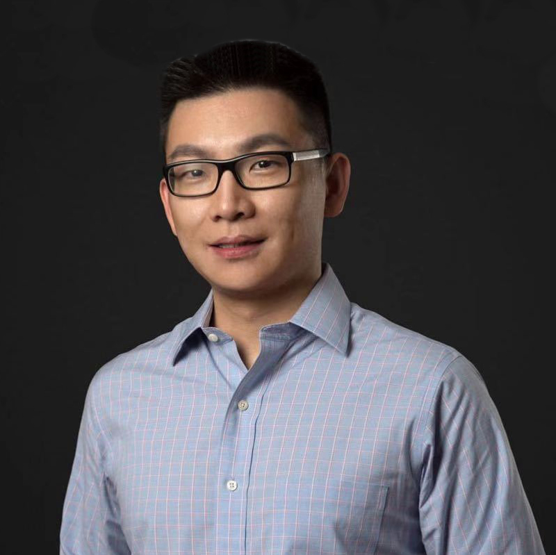 字节跳动火山引擎副总裁张鑫照片