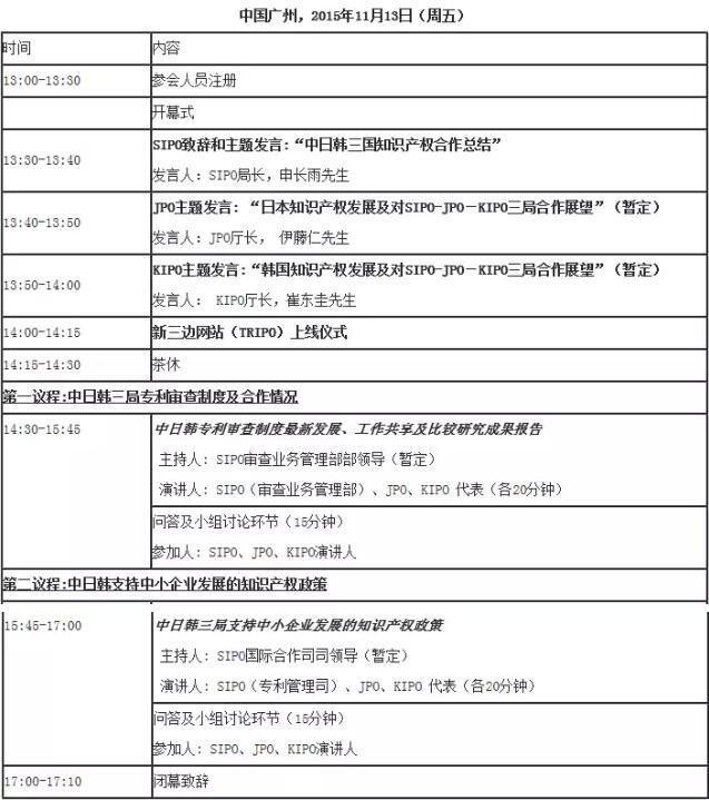 中日韩知识产权研讨会