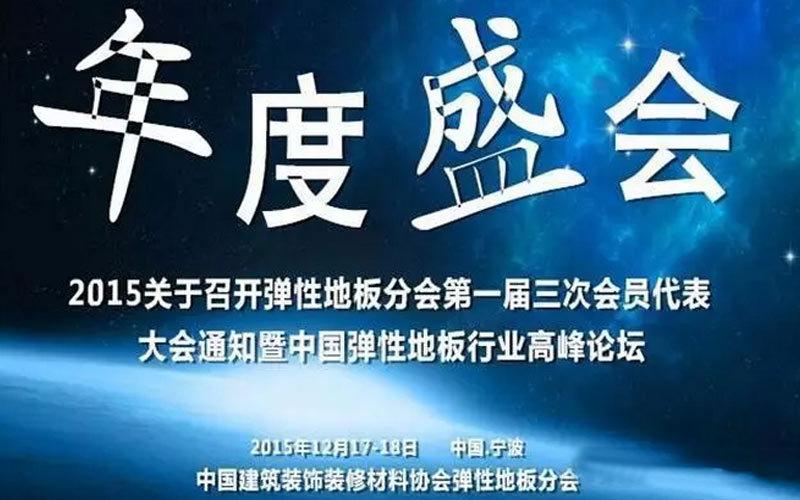 中国弹性地板行业发展论坛