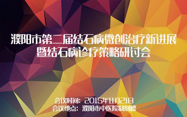 濮阳市第二届结石病微创治疗新进展暨结石病诊疗策略研讨会