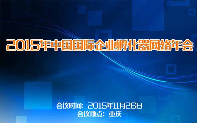 2015年中国国际企业孵化器网络年会