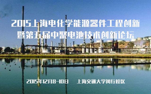 2015上海电化学能源器件工程创新暨第五届中聚电池技术创新论坛