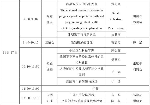 中国妇幼保健生育保健专业委员会成立大会