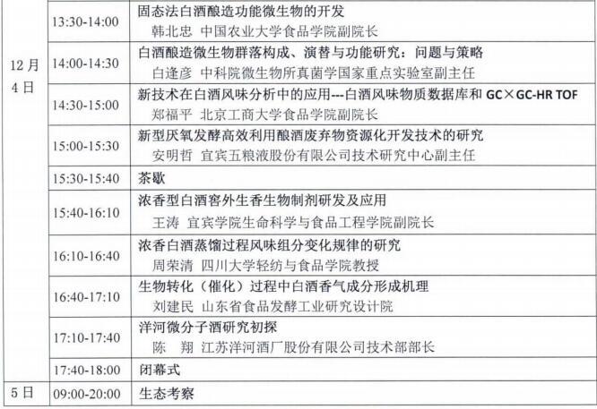 第三届中国微生物与白酒酿造技术研讨会