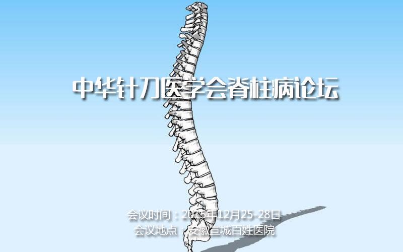 中华针刀医学会脊柱病论坛