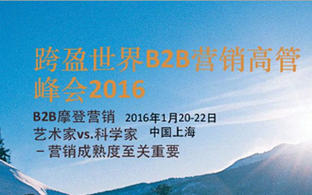 第十三届世界B2B营销高管峰会2016