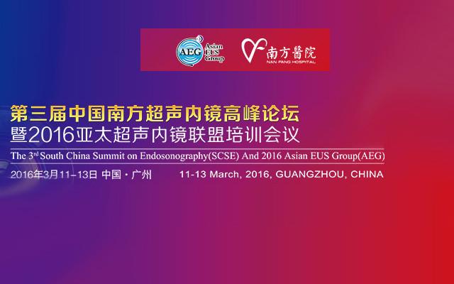 第三届中国南方超声内镜高峰论坛暨2016年亚太超声内镜联盟(AEG)培训会议
