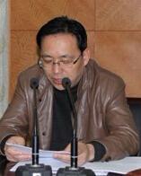 浙江横店影视娱乐有限公司发展部总经理沈林华照片