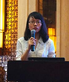 中国汽车技术研究中心首席专家王芳照片