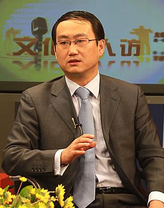 北京新元文化产业俱乐部秘书长刘德良照片