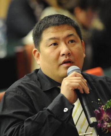 广州金逸影视传媒股份有限公司发展部总经理伍建飞照片
