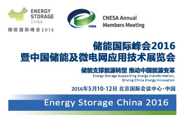 储能国际峰会2016