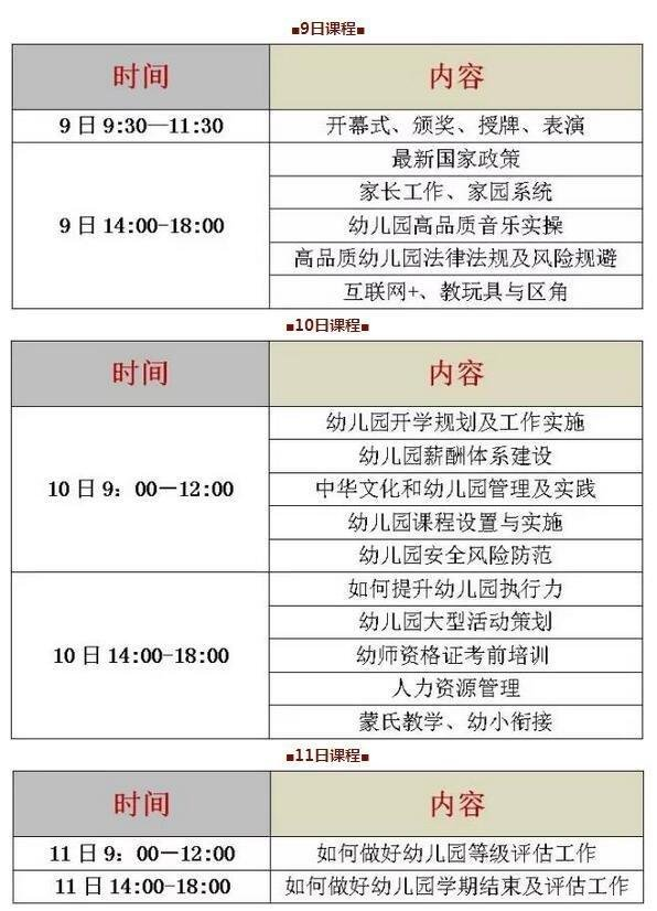第二届中国幼师节——幼儿园品质提升高峰论坛