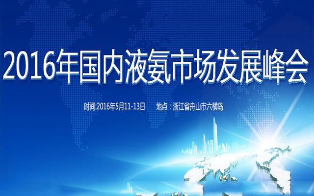 2016年国内液氨市场发展峰会