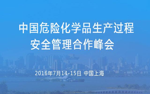 中国危险化学品生产过程安全管理合作峰会