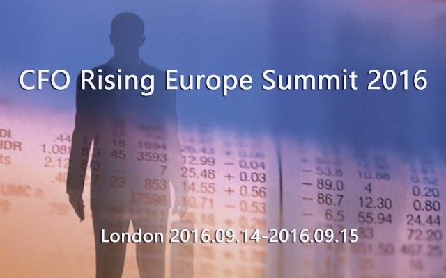 CFO Rising Europe Summit 2016