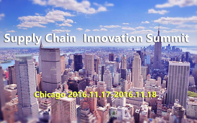 Supply Chain  Innovation Summit 2016