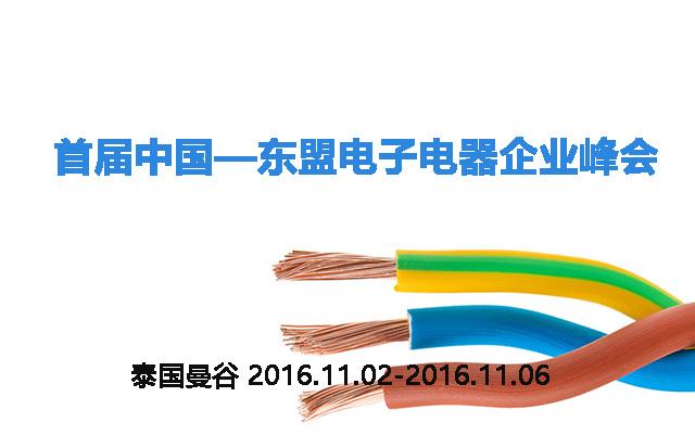 2016首届中国—东盟电子电器企业峰会