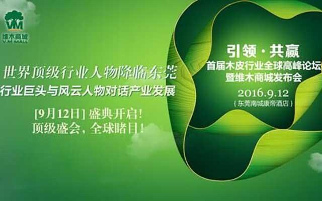 2016首届木皮行业高峰论坛暨维木发布会