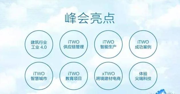 第四届 iTWO World 全球峰会2016