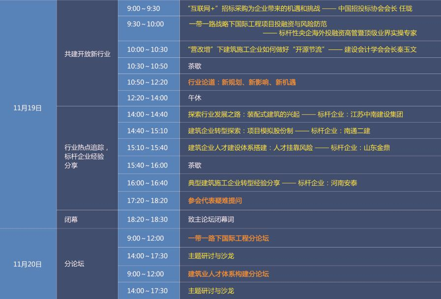 2016第三届中国建筑业改革与发展高峰论坛
