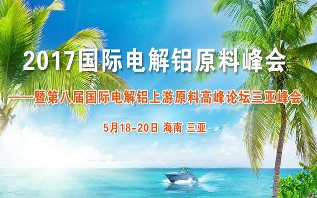 2017 国际电解铝原料峰会