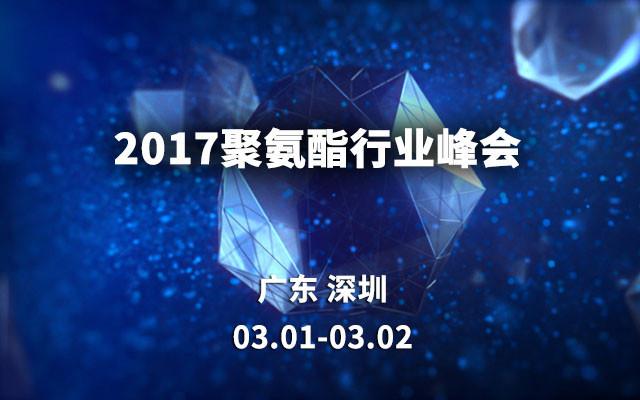 2017聚氨酯行业峰会