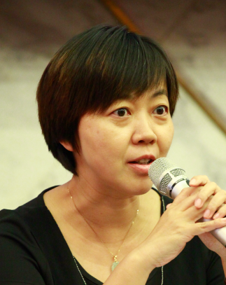 中国纺织信息中心副主任阎岩照片