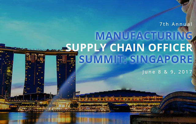 7th Annual Manufacturing Supply Chain Officer Summit:Singapore