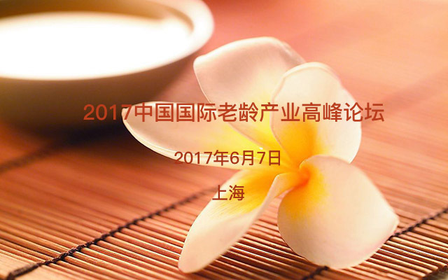 2017中国国际老龄产业高峰论坛