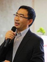 大华股份常务副总裁朱江明照片