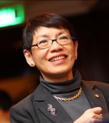 香港联合国教科文组织协会副会长梁美智照片
