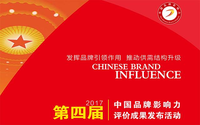 2017中国品牌影响力评价成果发布活动