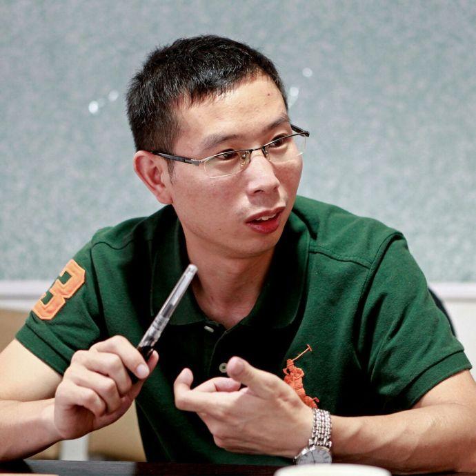 遂昌赶街模式创始人潘东明照片