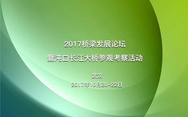 2017桥梁发展论坛暨沌口长江大桥参观考察活动