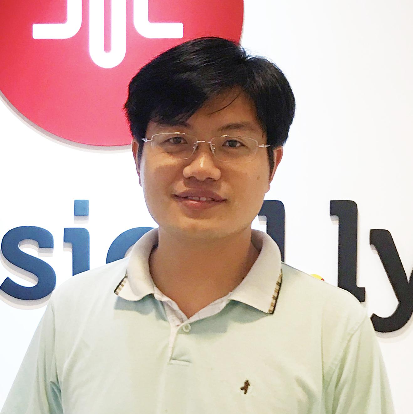 musical.ly 高级技术副总裁张木喜照片