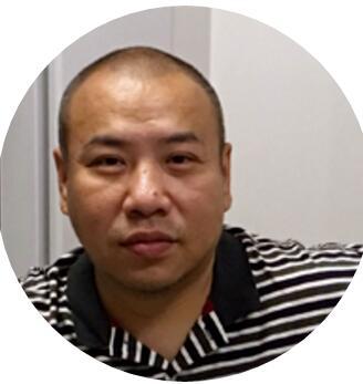 轻维软件副总经理谢涛照片