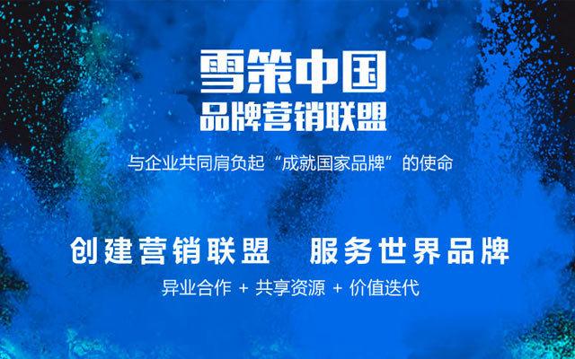 2017首届雪策中国品牌营销联盟峰会