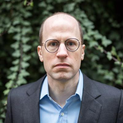 牛津大学教授Nick Bostrom照片