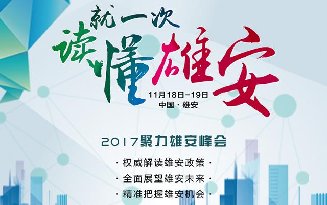第一届中国聚力雄安峰会