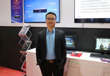 神州数码云科数据技术有限公司  全国销售总监朱明磊照片