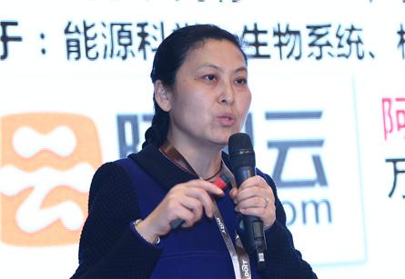 中国计算机学会存储专委会  主任委员冯丹照片