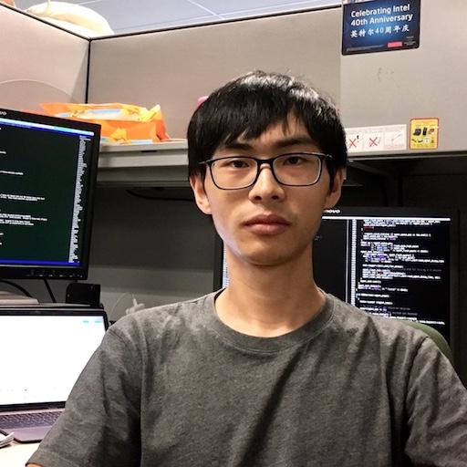 intel软件工程师程盈心照片