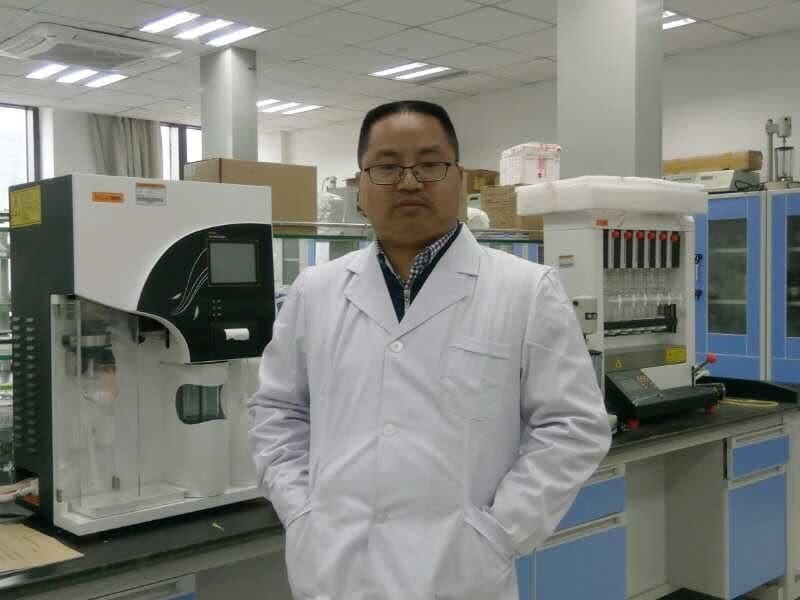 浙江省千人、浙江海洋大学教授周英棠照片